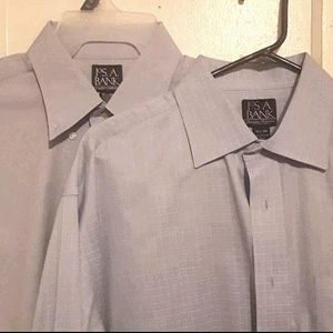 Jos. A. Bank dress shirts 16 1/2-36